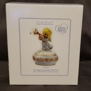 Precious Moments Trumpeting Angel Musical